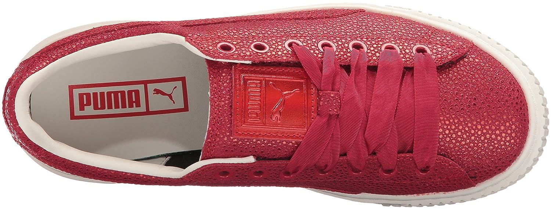 PUMA Women's Sneaker Basket Platform Lux Wn Sneaker Women's B01N9IBTMP 10 M US|Toreador-toreador 87b8b6