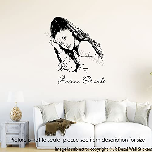 Amazon.com: Ariana Grande Wall Art Stickers Ariana grande ...