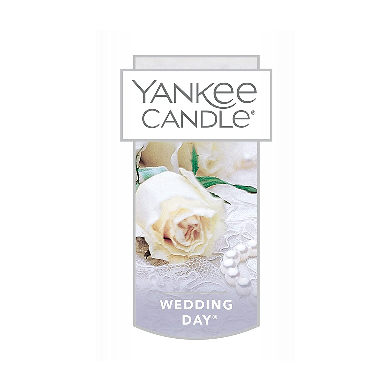 Amazon.com: Yankee Candle Large Jar Candle, Wedding Day: Home & Kitchen