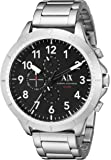 Armani Exchange Men's Chronograph Silver-Tone Stainless Steel Watch AX1750