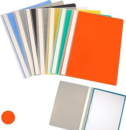 Alevar 2395/RD - Carpetas para archivo en PPL, Formato A4, Rojo ...
