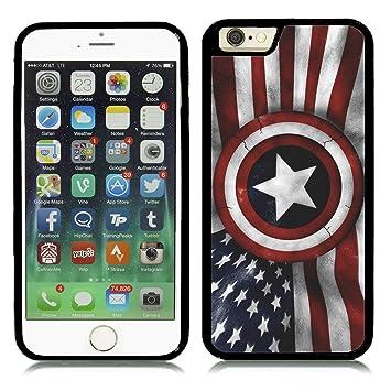 carcasa iphone 6 capitan america