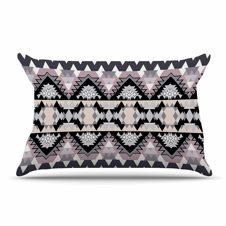 Kess InHouse Victoria Krupp Nordic Ice Black Pastel Digital 30 x 20 Pillow Sham