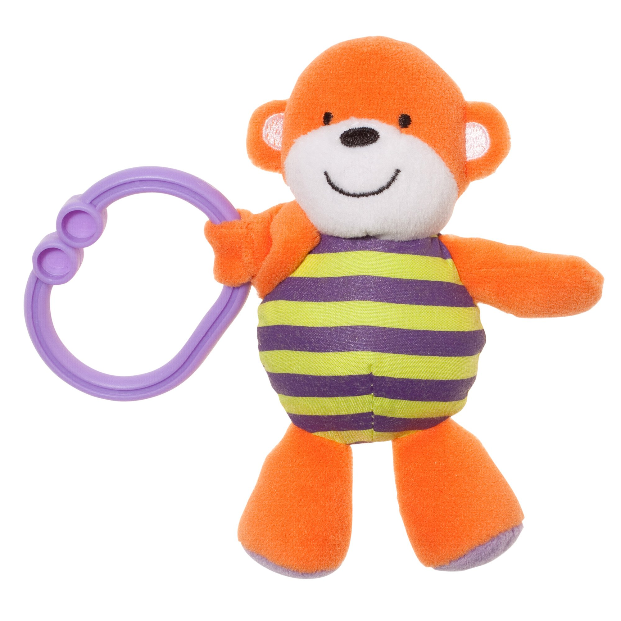 Carter's Tag Along Ziggle Monkey Clip