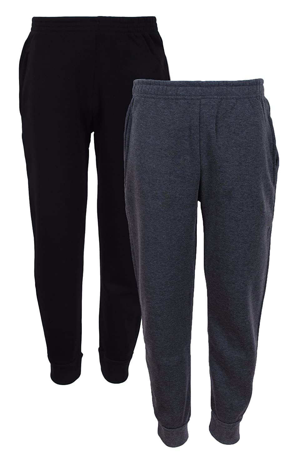 Quad Seven 2-Pack Boys' Fleece Jogger Sweatpants