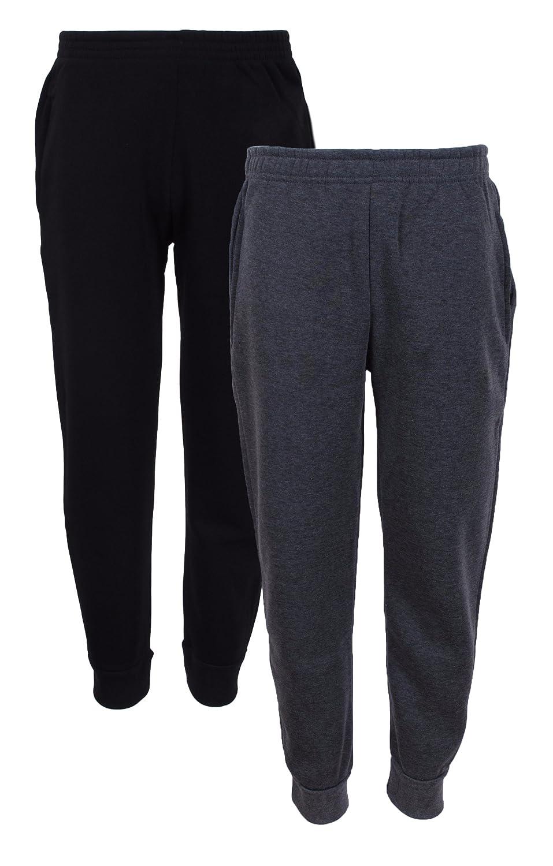 Quad Seven 2-Pack Boys' Fleece Jogger Sweatpants