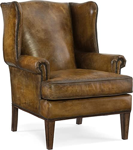 Hooker Furniture Blakeley Leather Club Chair
