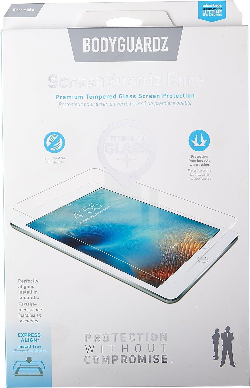 NEW BodyGuardz Screenguardz Pure Tempered Glass Screen Protector iPad Air//Air 2