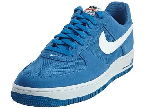 f573d454a8cad Nike Air Force 1 Men's Shoes Star Blue/White 820266-402 (9. 5 D(M ...