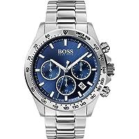 Hugo Boss Black Men'S Blue Dial Stainless Steel Watch - 1513755