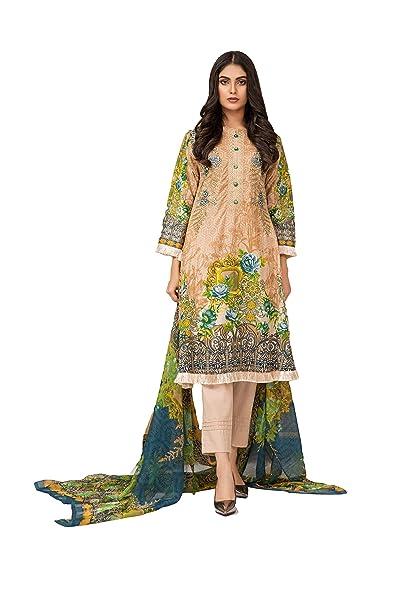 IshDeena Pakistani Dresses for Women Ready to Wear Salwar Kameez Ladies  Suit - 3 Piece