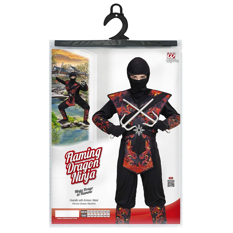WIDMANN Disfraz de ninja para niños: Amazon.es: Juguetes y ...