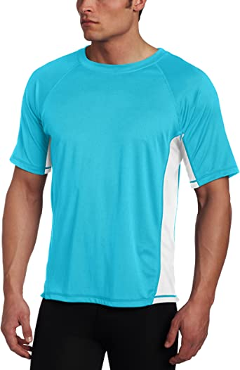 Swim Shirt Kanu Surf Mens Short Sleeve UPF 50 Kanu Surf Men/'s Swimwear Regular /& Extended Sizes