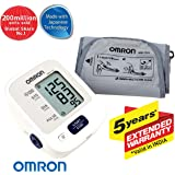 Omron HEM 7121 Fully Automatic Digital Blood Pressure Monitor With Intellisense Technology & Cuff Wrapping Guide For Most Accurate Measurement