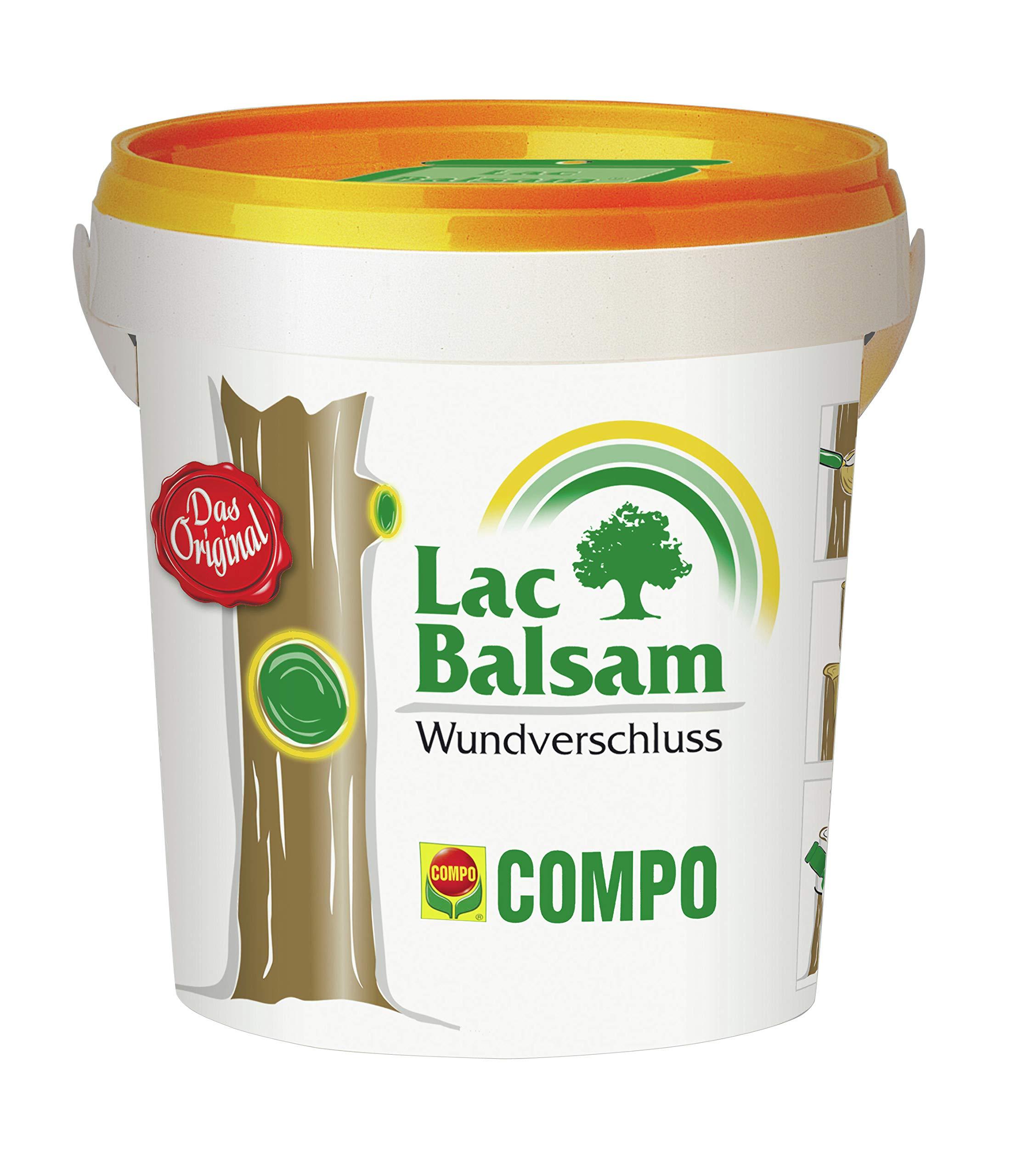 COMPO Lac Balsam, Wundverschlussmittel zur Behandlung an Zier- und Obstgehölzen, 1 kg product image