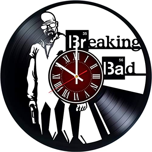 Breaking Bad 12 inches / 30 cm Vinyl Record Wall Clock