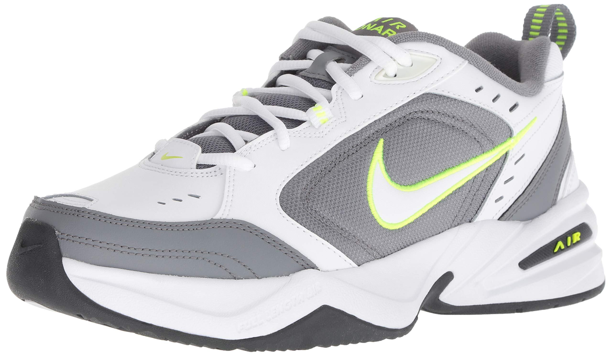Nike Men's Air Monarch IV Cross Trainer, White-Cool Grey-Anthracite, 6 Regular US