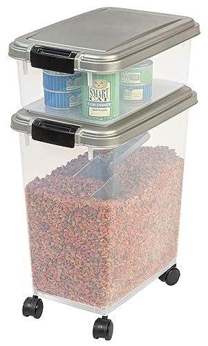 IRIS 3-Piece Airtight Pet Food Container Combo Review