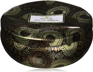 product image for Voluspa Decorative 3 Wick Tin/Baltic Amber, 12oz Tin