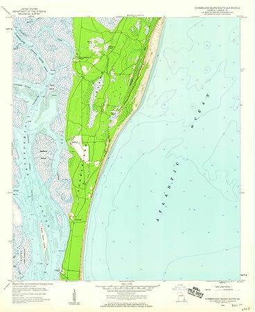 Amazoncom Georgia Maps Cumberland Island GA USGS - Georgia topographic map