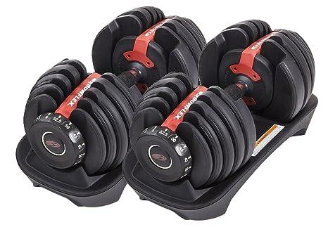 Bowflex - Juego de mancuernas de peso regulable (2 - 24 kg)