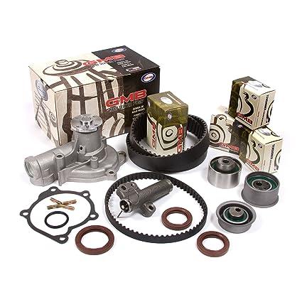 Fits 96-99 Eagle Mitsubishi 2 0 DOHC 16V 4G63 4G63T Timing Belt Kit  w/Hydraulic Tensioner GMB Water Pump