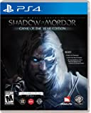 Shadow of Mordor Game of the Year Edition Playstation 4