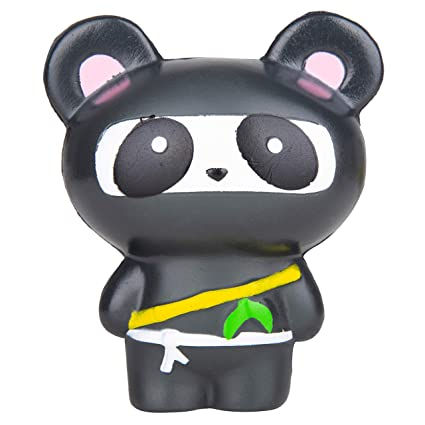 Amazon.com: Cute Slow Rising Ninja Panda Jumbo Squishy ...