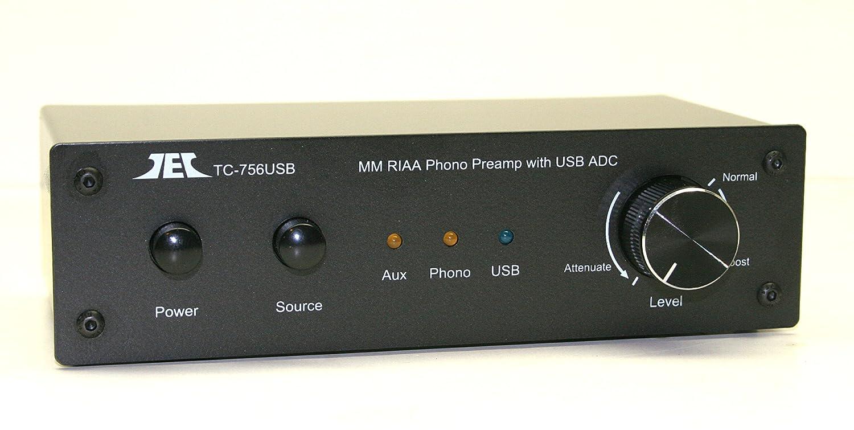 Amazon.com: technolink tc-756usb RIAA de imán móvil para ...