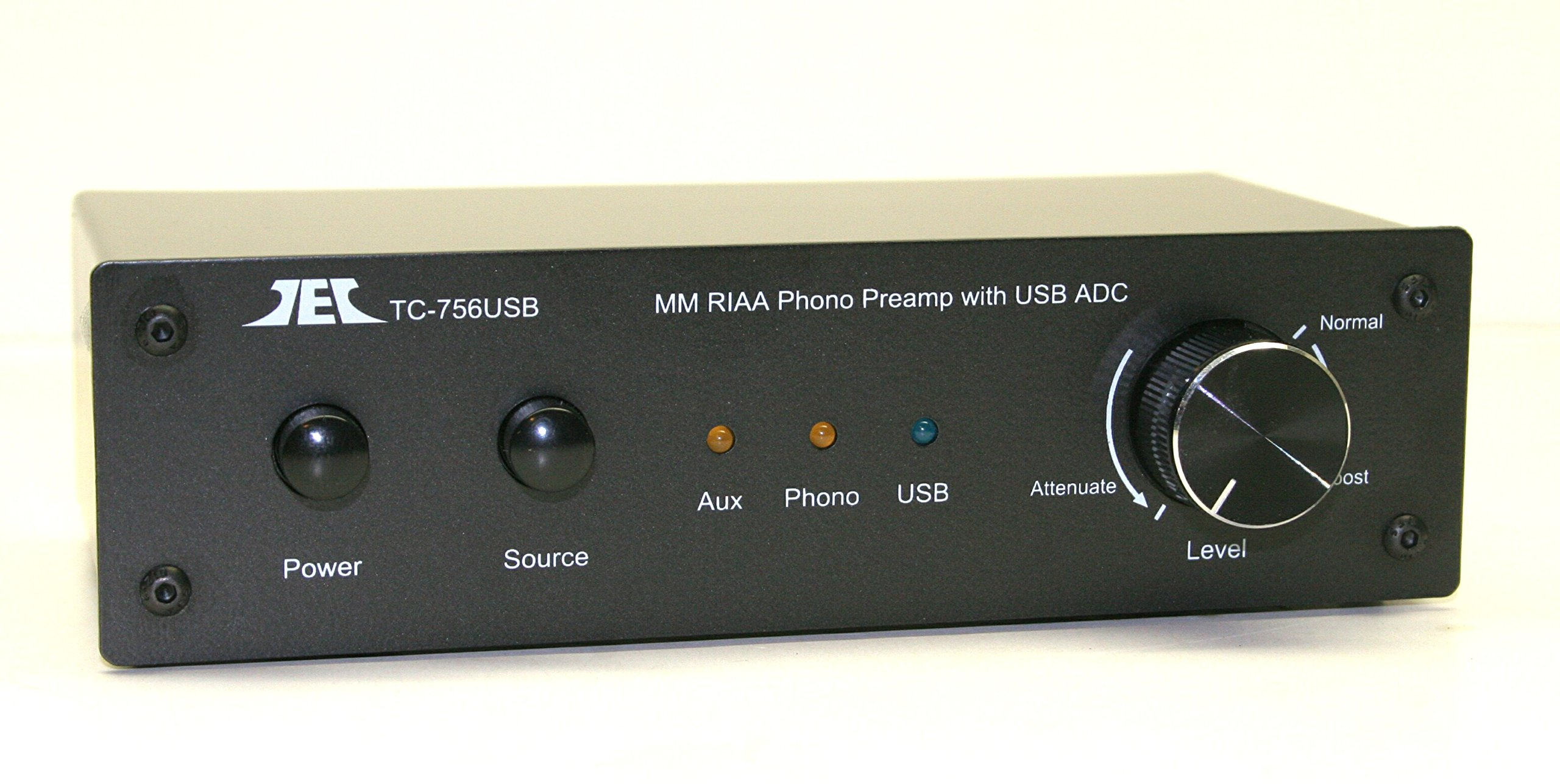 Technolink TC-756USB RIAA Moving Magnet Phono Preamp with AUX Input and USB (Computer) Output by Phono Preamps