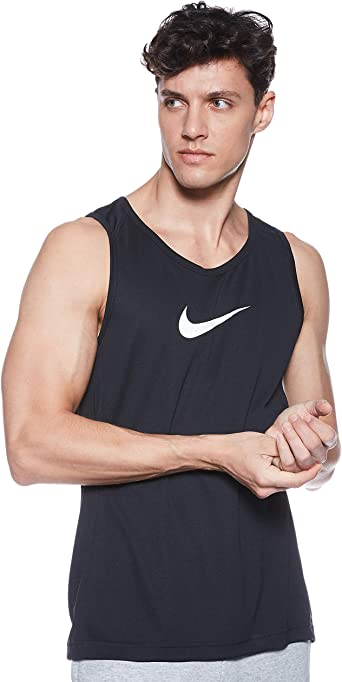 Nike M Nk Dry Top SL Crossover BB - Tank de Baloncesto Hombre ...