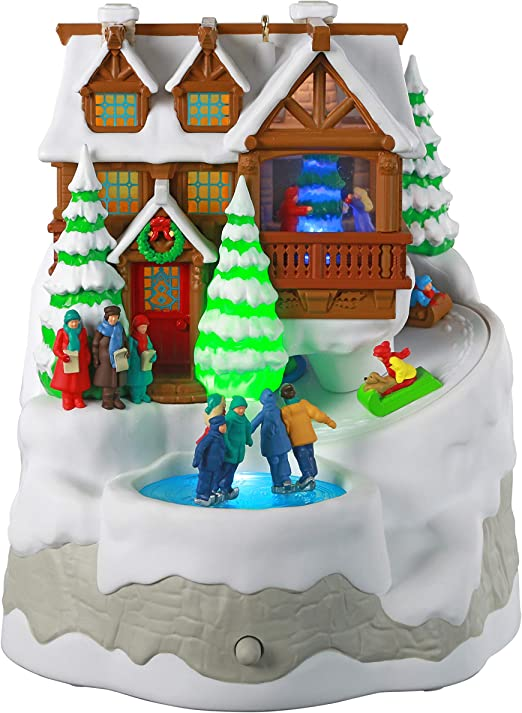 2020 Christmas Vacation Ornament Music Hallmark Amazon.com: Hallmark Keepsake Ornament 2020, Christmas Cabin
