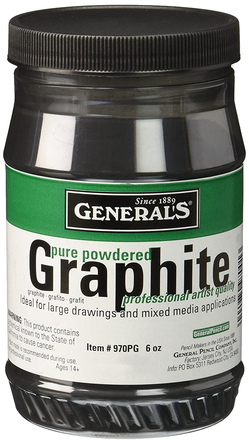 General's Powdered Graphite, 6 oz General' s® Pencil G970PG