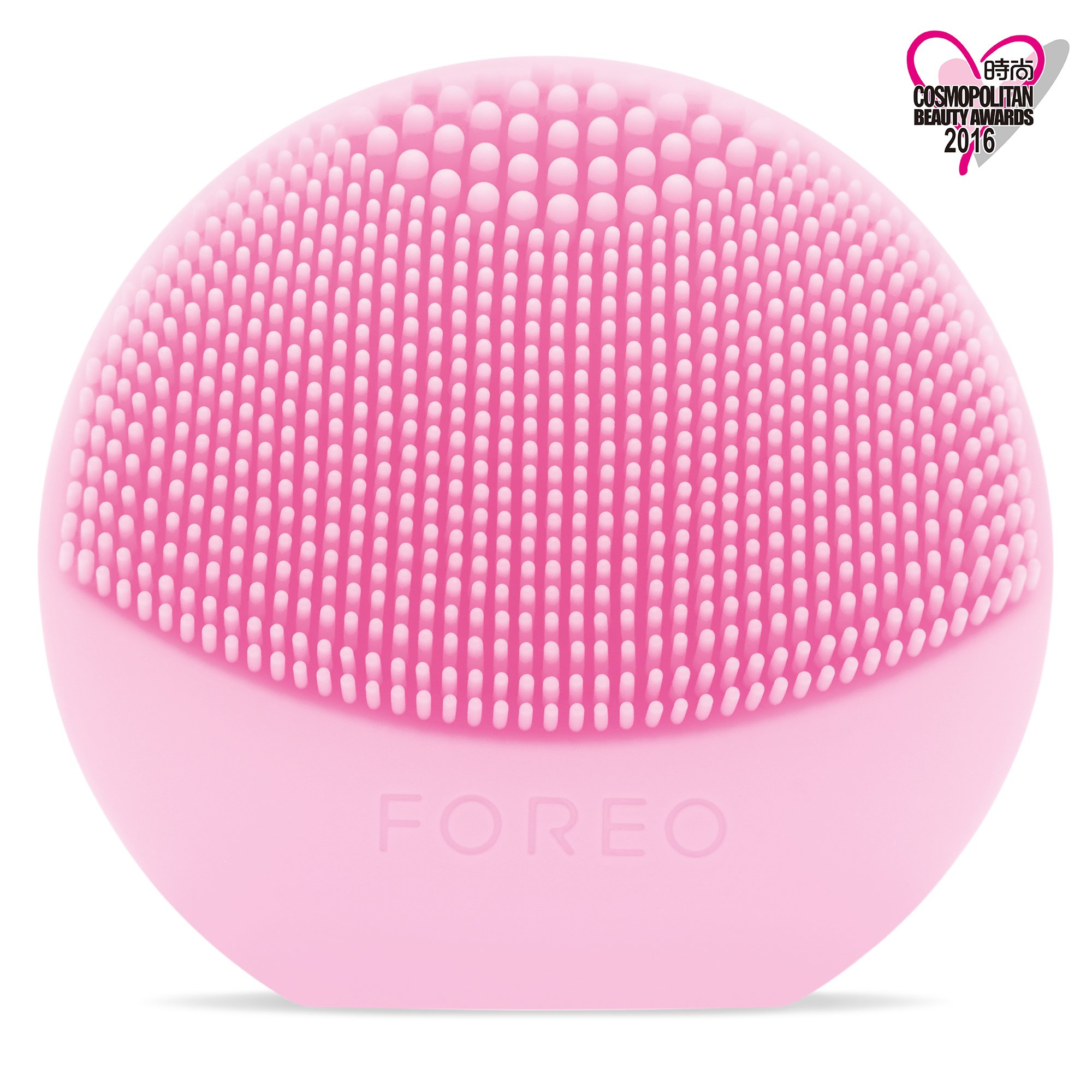 FOREO LUNA play - All the Power of T-SONIC Cleansing in 1 Small Device, Pearl Pink