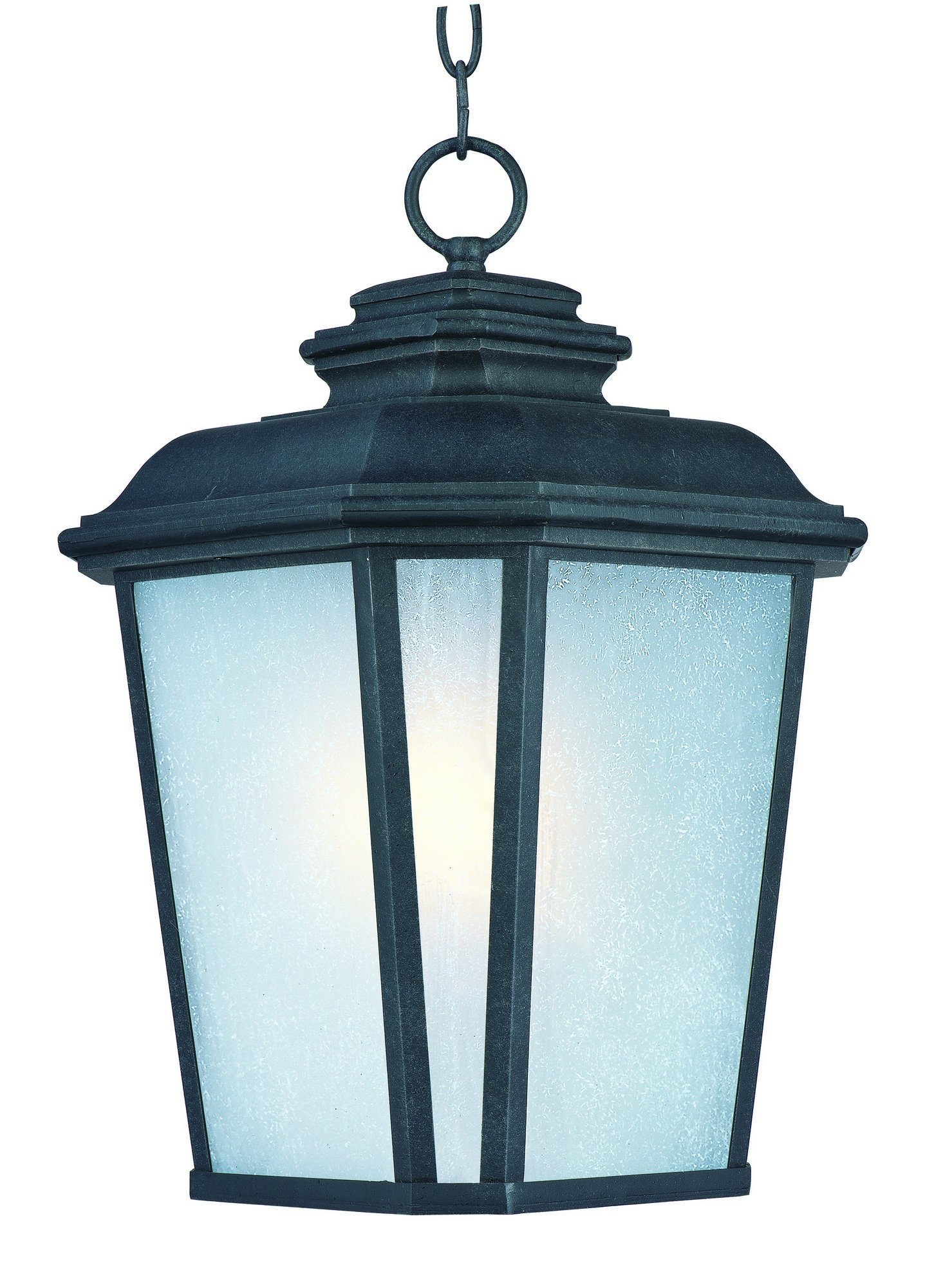 Maxim Lighting 3349 Radcliffe Outdoor Hanging Lantern, Black Oxide Finish, 11 by 16.5-Inch