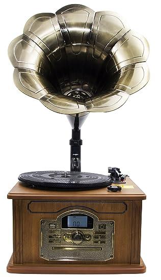 Nostalgie Retro Tocadiscos | Minicadena | equipo estéreo | Cadena ...