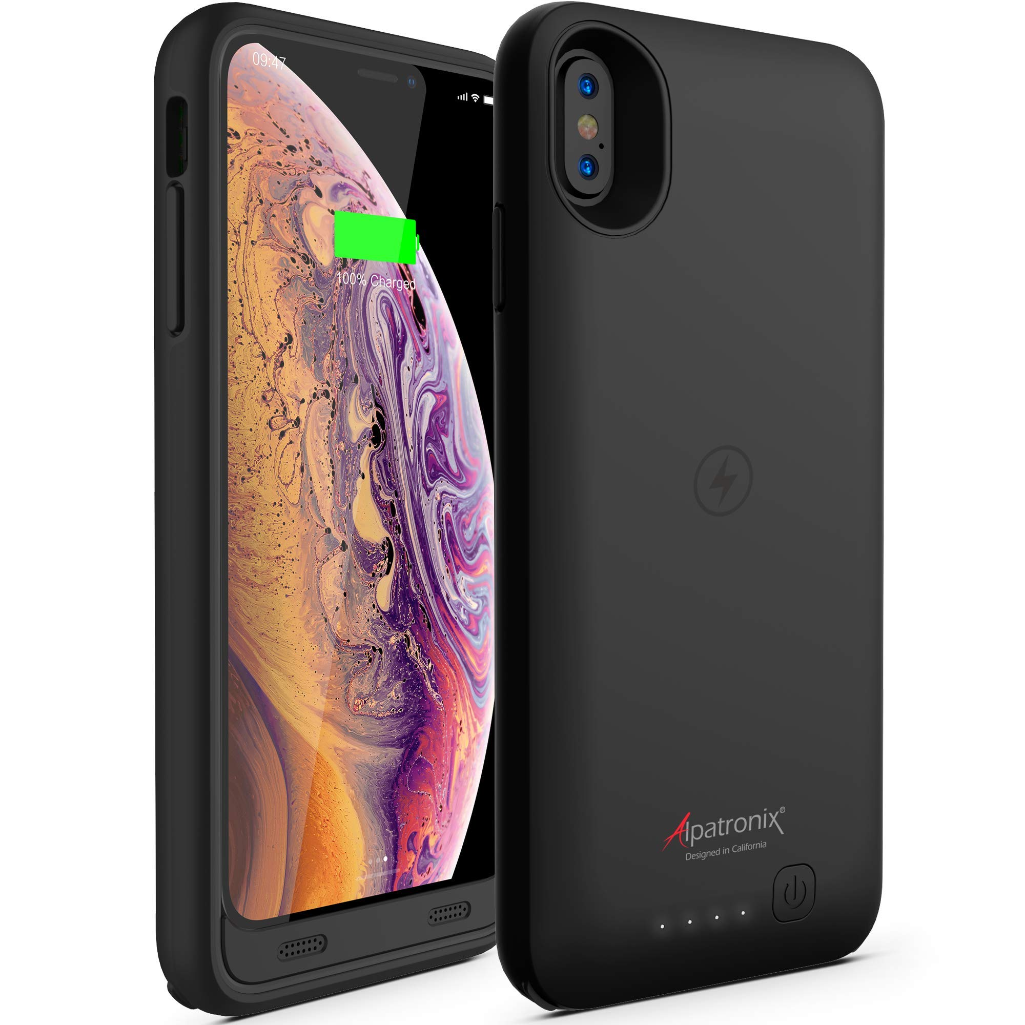 Funda Con Bateria de 3500mah para Apple Iphone Xs Max ALPATRONIX [7H84XLCX]