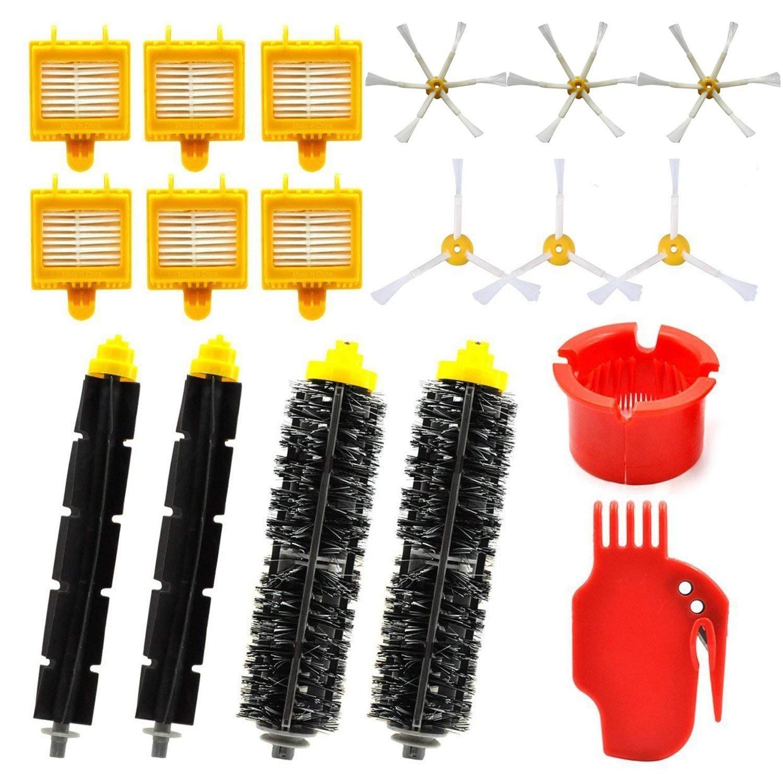 Acquisto SODIAL Kit di parti di ricambio per iRobot Roomba serie 700 – Kit di accessori per Roomba 760 770 780 790 Aspirapolvere (18 in 1) Prezzo offerta