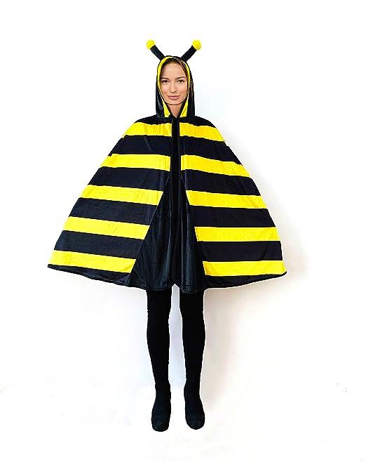 biene kostüm umhang damen
