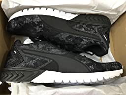 puma ignite dual camo black