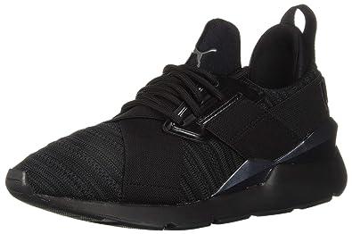 fa506bd99ce PUMA Women s Muse Knit Sneaker Iron gate Black