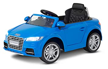 Amazoncom Kid Trax Audi TT Electric Ride On V Blue Toys Games - Audi 6v car