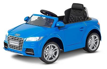 Amazoncom Kid Trax Audi TT Electric Ride On V Blue Toys Games - Audi 6v ride toy cars