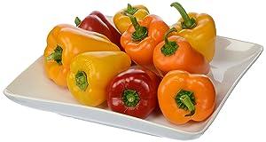 Organic Sweet Mini Peppers, 8 oz
