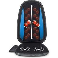 Comfier Shiatsu Back Massager with Heat - Deep Tissue Kneading Massage Seat Cushion, Massage Chair Pad for Full Back…