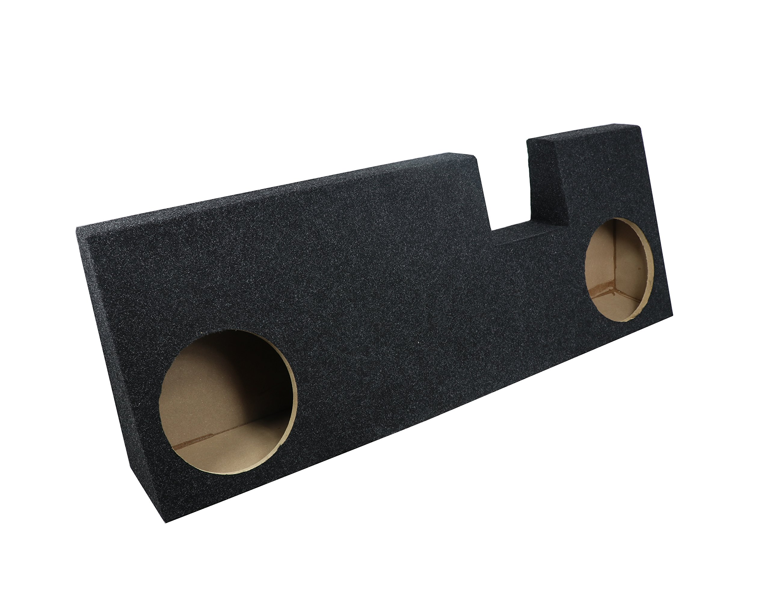 Atrend Bbox A344-10CP Dual 10'' Sealed Carpeted Subwoofer Enclosure - Fits 2015 - up Ford F150 Extended Cab