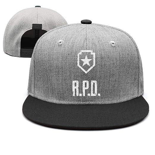 fb9b2b2c82de39 Unisex Resident-Evil-R.P.D- Baseball Hats Sunscreen Cap Rock Punk caps