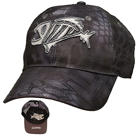 6188b9724 Amazon.com: G. Loomis Kryptek Camo Cap - Black - One size fits all ...