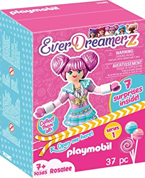 PLAYMOBIL EverDreamerz Candy World - Rosalee, A partir de 7 Años ...