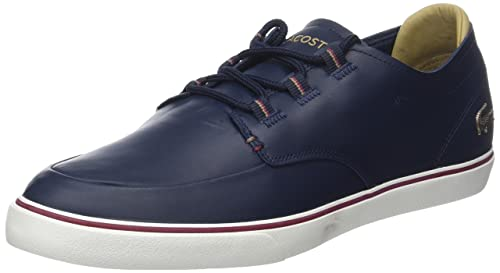 Lacoste Esparre Deck 118 3 Cam, Sneaker Uomo, Nero (Blk/Lt Tan), 44 EU